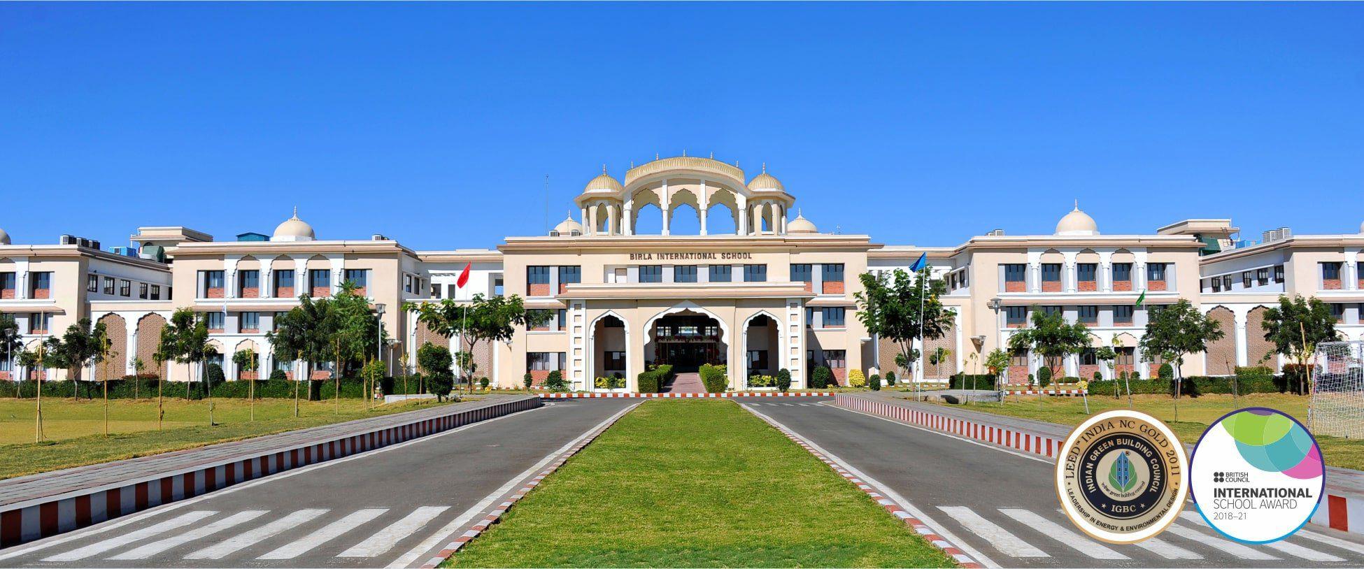 Birla International School Kishangarh day view