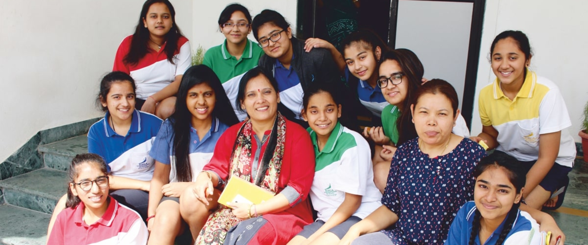 Birla students pastol care group photo