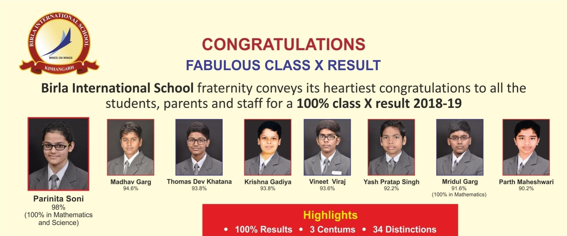 Birla International School Kishangarh